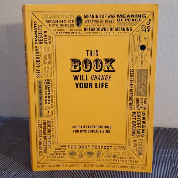 Daily Instructions Book, 365 Hysterical